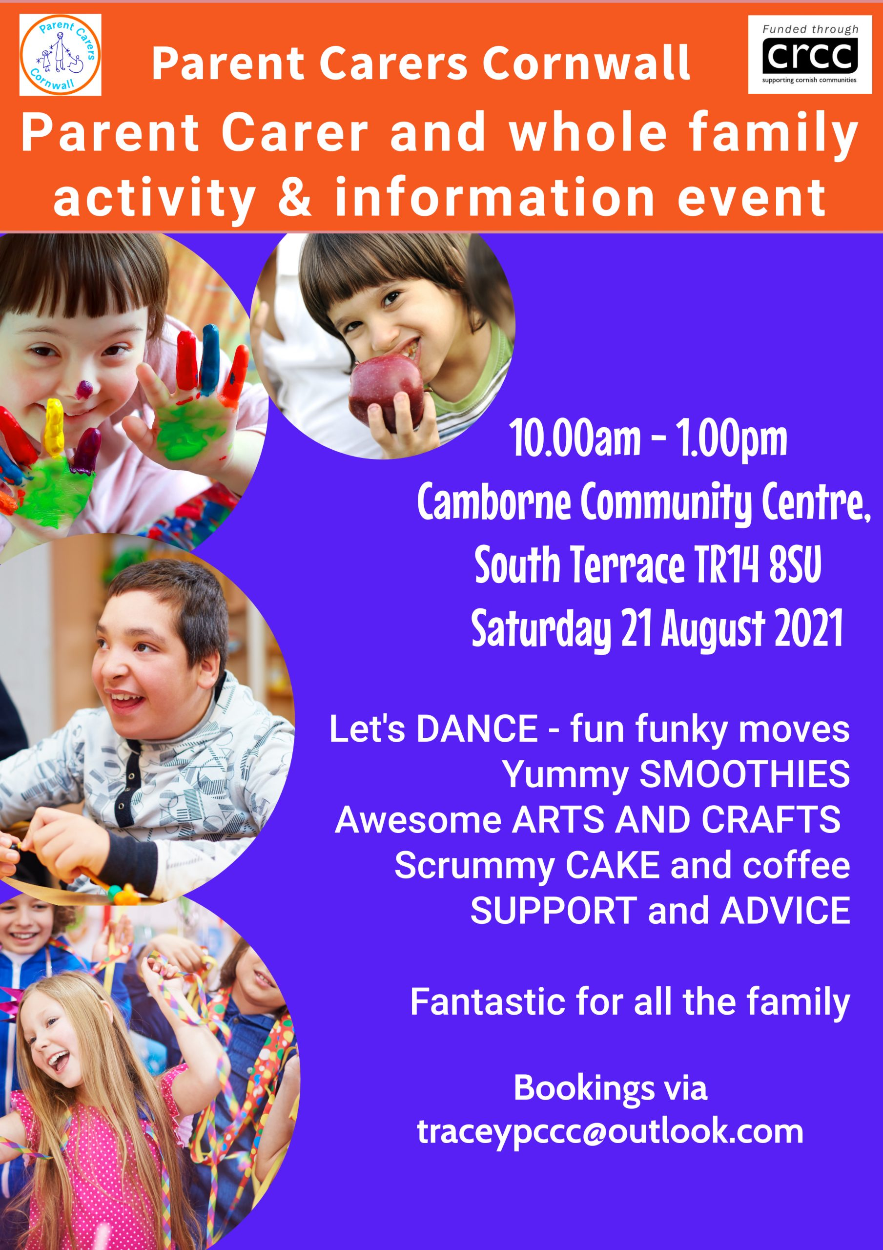 PCC Together for Families Activity – Camborne