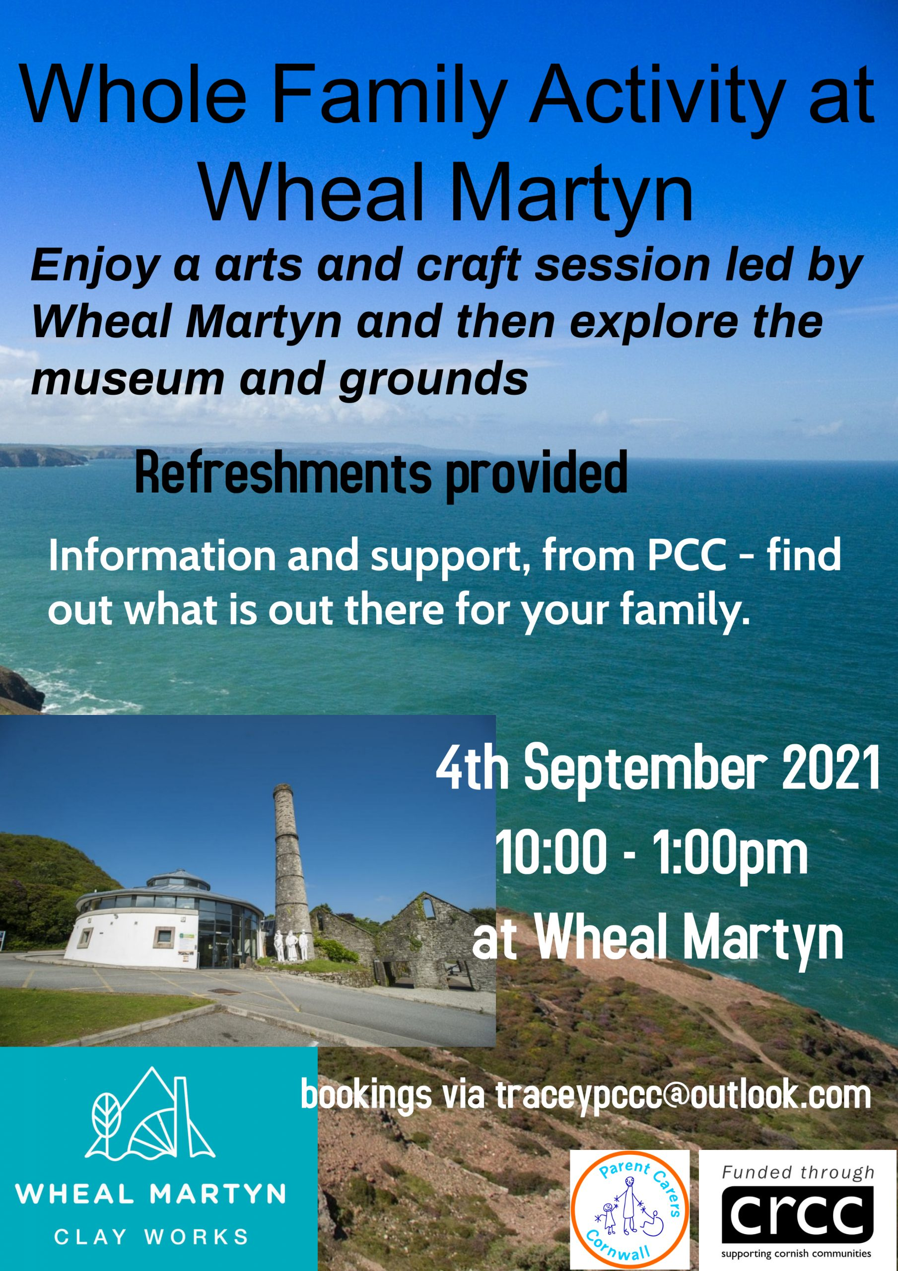 Together for Families PCC activity at Wheal Martyn