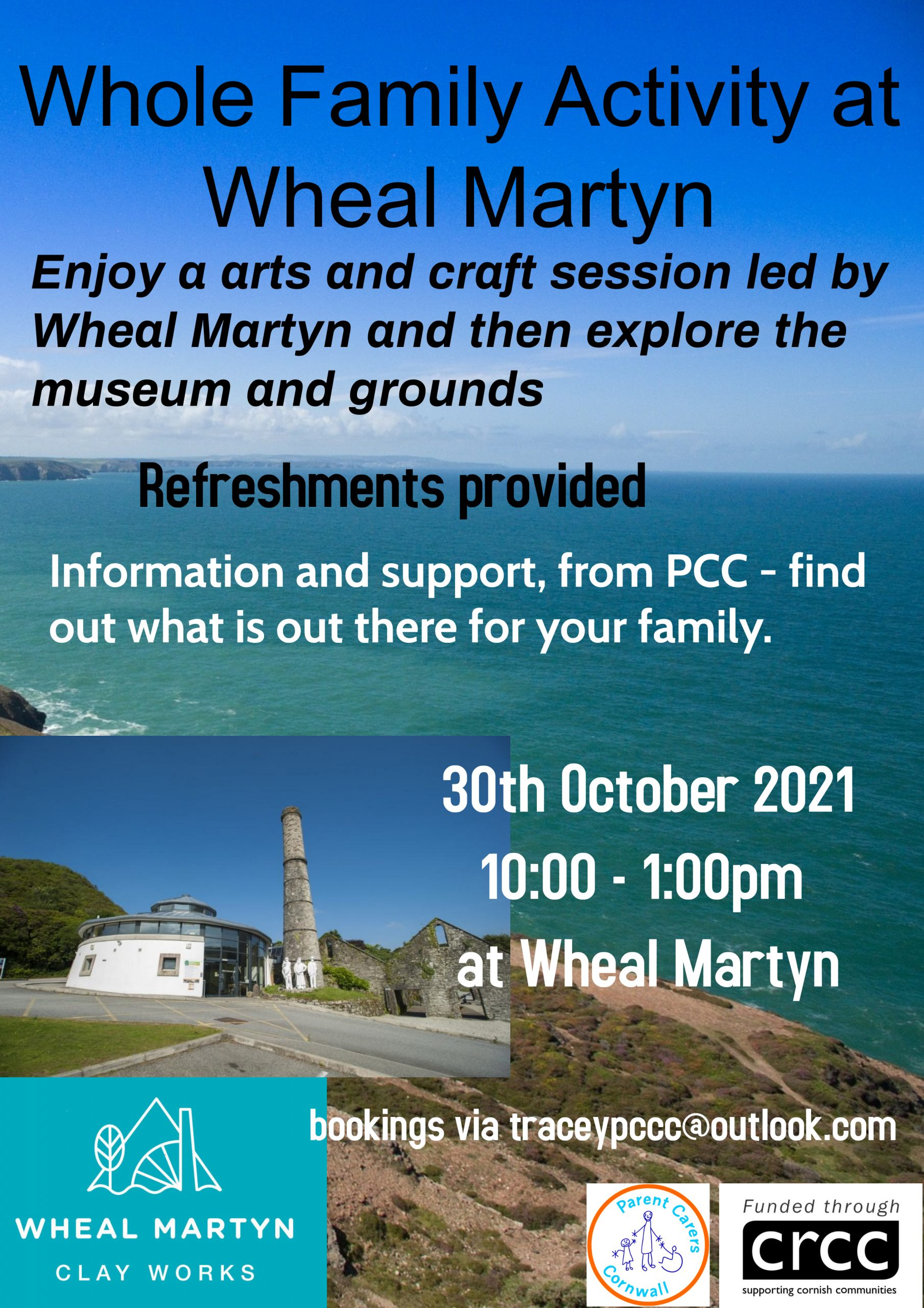 Together for Families/PCC Activity – Wheal Martyn – 30th October 2021